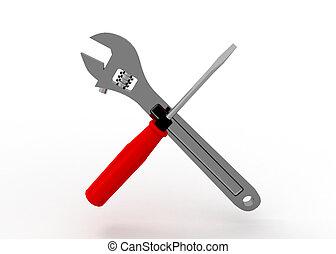 3D, 猛扭, 螺絲刀
