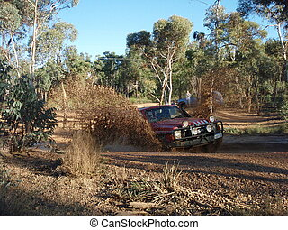 Four Wheel Driving in Mundaring, WA, Australia