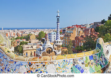 View of Barcelona from Park Guell