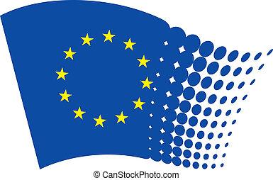 european union flag eu
