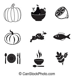 organic food over white background vector illustration