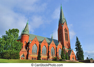 Turku, Finland. Church of St.Michael - Lutheran Church of...