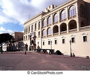 Prince Reiniers Palace, Monaco. - Prince Reinier's Palace,...