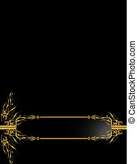 Gold Black elegant backgr