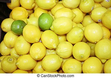 Lemons and lime
