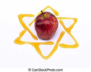 yom kippur tradtional food - honey and apple yom kippur...
