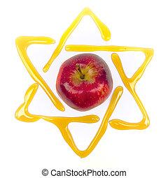 yom, kippur, estrella, david