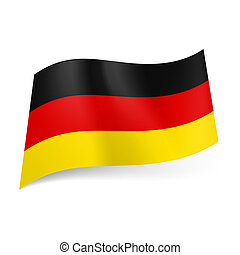 State flag of Germany - National flag of Germany: black, red...