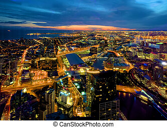 melbourne docklands and more