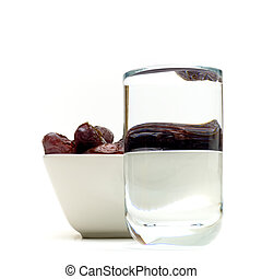 dates and water for ramadan - dates and water tradional for...