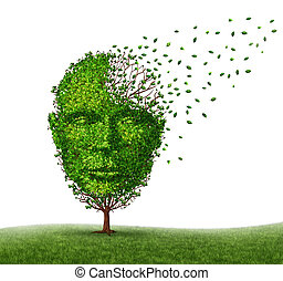 Dementia Disease - Dementia disease dealing with Alzheimer's...