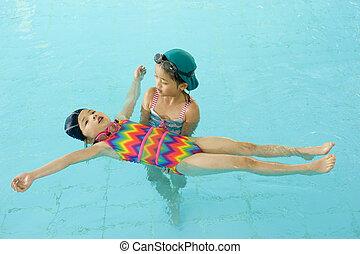 poco, Nadadores