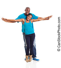 african American couple - beautiful african american couple...