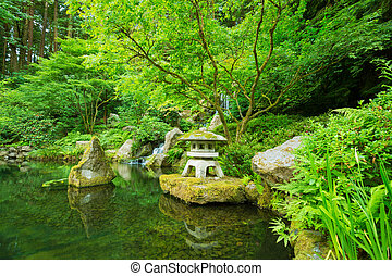 Beautiful Japanese Garden - Beautiful Japanese Zen Garden