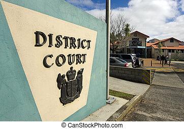 Kaitaia - Courts of New Zealand - KAITAIA, NZ - AUG...