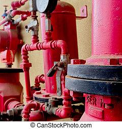 Old Sprinkler alarm system - Ole sprinkler alarm system with...