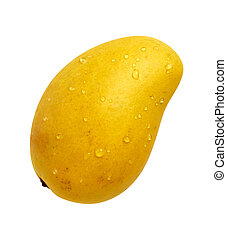 Ataulfo Mango with a clipping path