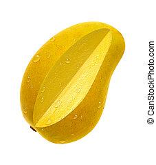 Ataulfo, mango, Rebanada