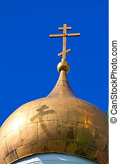 dome with a cross