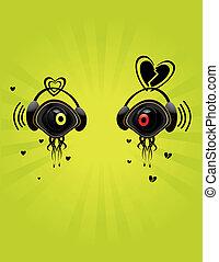 Eye character image 4