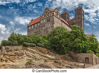 Castle Quedlinburg - Castle and Collegiate Church of St...