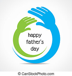 happy father's day concept vector stock vector