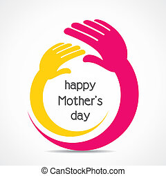 happy mother's day background concept stock vector