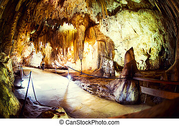 Nerja Caves (Cuevas de Nerja), series of caverns in Spain