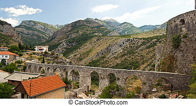 viaduct in the mountains