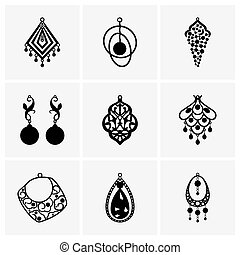 Earrings - Set of earrings
