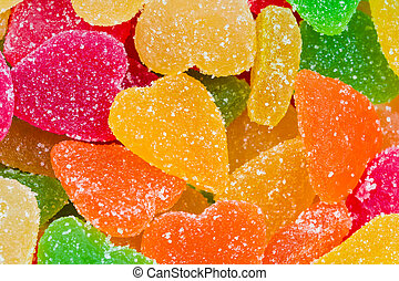 Candied fruit candy
