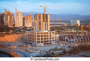 Construction - Buildings to be constructed in the city