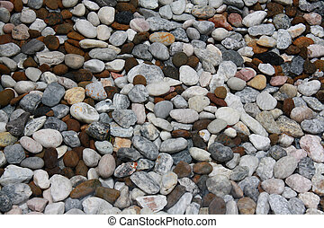 cobbles - those cobbles use to filter water in swimming pool