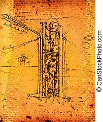 Leonardo's engineering - Leonardo's Da Vinci engineering...