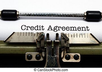 Credit agreement
