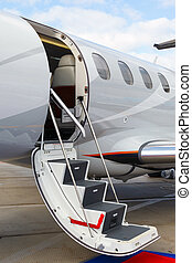 ladder in a private jet - photo off ladder in a private jet