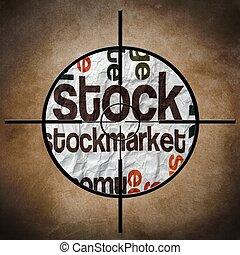 Stockmarket target