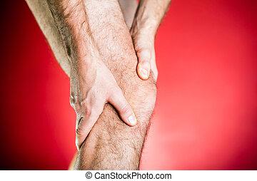 Runner knee pain