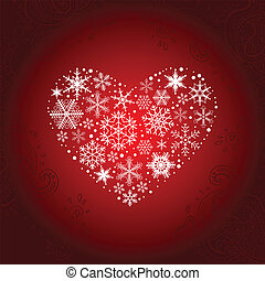 Heart of Snowflakes.