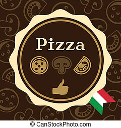 Pizza Packaging Design - Packaging design for a pizza