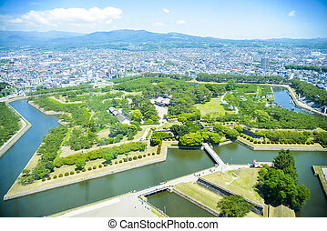 Goryokaku Park in Hakodate Japan1