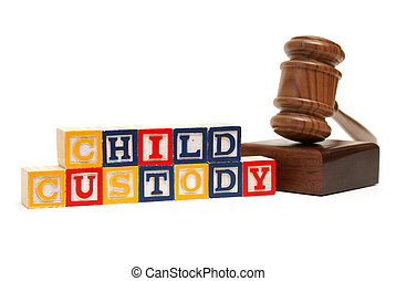 Child Custody - A group of isolated objects in regards to...