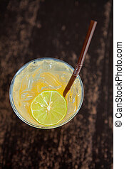 Cocktail - Yellow coloured cocktail