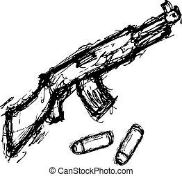 grunge weapon
