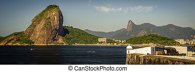 Sugarloaf Mountain - Fort at the waterfront with Sugarloaf...