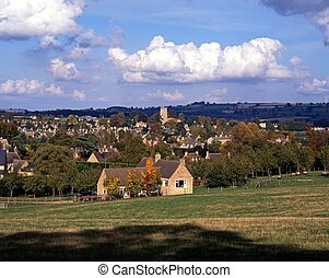 Cotswold village, Chipping Campden - Overview of...