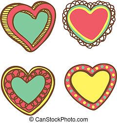 love frame doodle