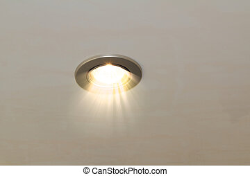 ceiling spot lamp - radiant ceiling spot lamp