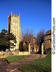 Church, Chipping Campden, UK. - Church of St. James,...