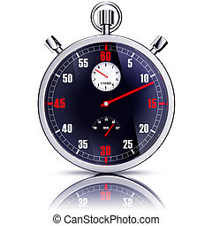 stop watch - high resolution rendering of a stop watch